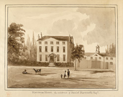 Hatcham House, the Residence of Daniel Hardcastle Esq